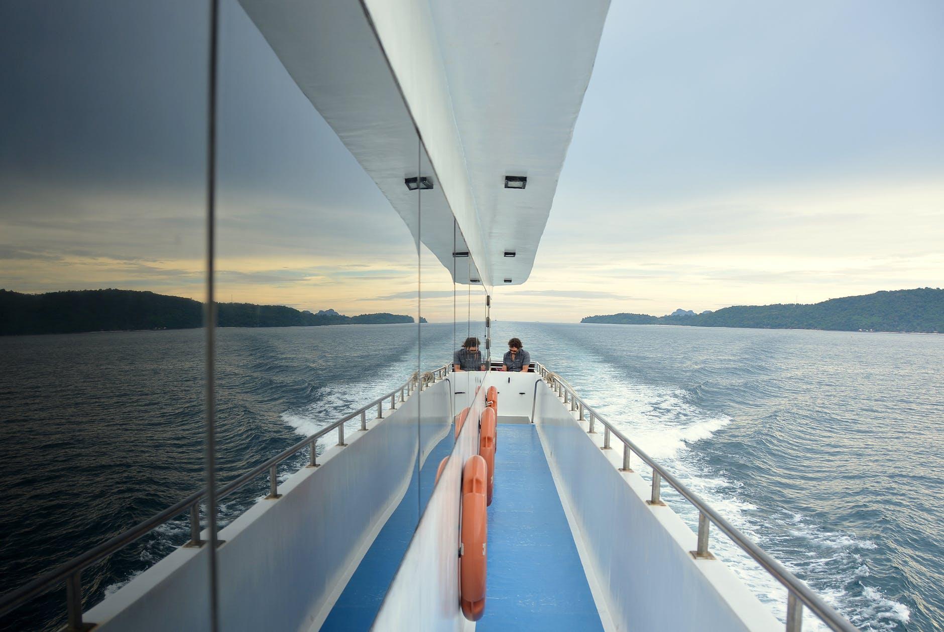 adventure boat deck islands