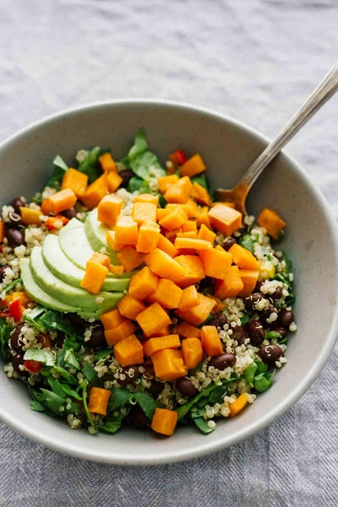 Roasted-Sweet-Potato-Black-Bean-Salad-4-600x900