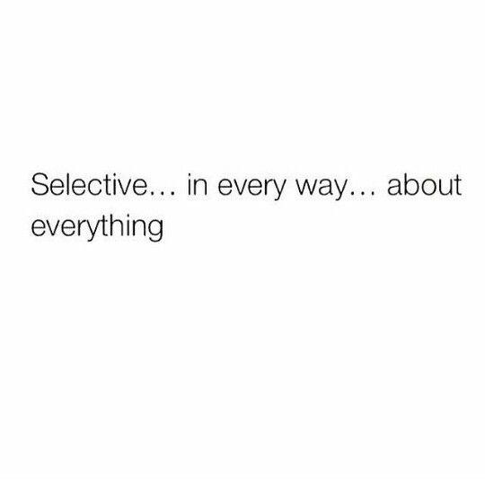 selctive